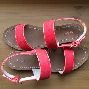 NIB Boden Louisa Leather Sandals Size 9